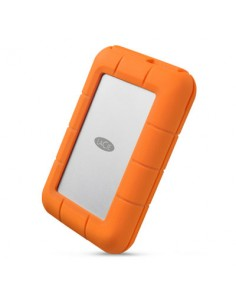LaCie Rugged RAID Pro ulkoinen kovalevy 4000 GB Harmaa, Oranssi Lacie STGW4000800 - 1
