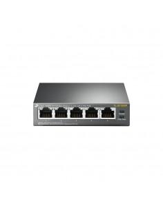 TP-LINK TL-SF1005P verkkokytkin Hallitsematon Fast Ethernet (10/100) Musta Power over -tuki Tp-link TL-SF1005P - 1