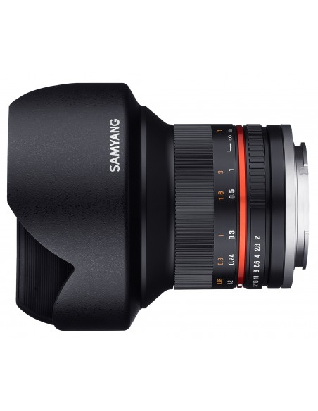 Samyang 12mm F2.0 NCS CS SLR Laajakulmaobjektiivi Musta Samyang 21578 - 2