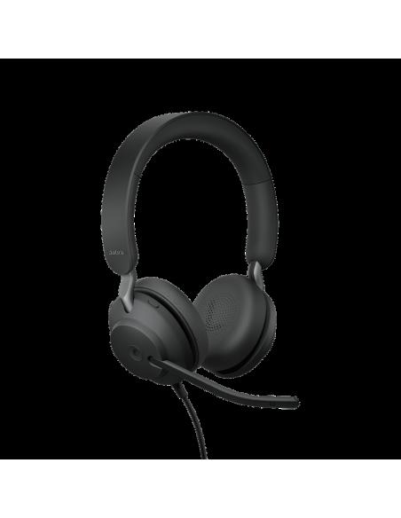 Jabra Evolve2 40. MS Stereo Kuulokkeet Pääpanta Musta Jabra 24089-999-999 - 4