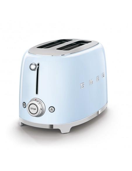 Smeg TSF01PBEU leivänpaahdin 2 viipale(i)ta Sininen 950 W Smeg TSF01PBEU - 3