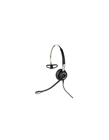 Jabra Biz 2400 II QD Mono UNC 3 in 1 Kuulokkeet Ear-hook, Pääpanta, Niskanauha Musta, Hopea Gn Netcom 2406-720-209 - 1