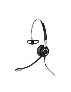 Jabra Biz 2400 II QD Mono NC 3-in-1 Wideband Balanced Kuulokkeet Ear-hook, Pääpanta, Niskanauha Musta, Hopea Gn Netcom 2486-825-