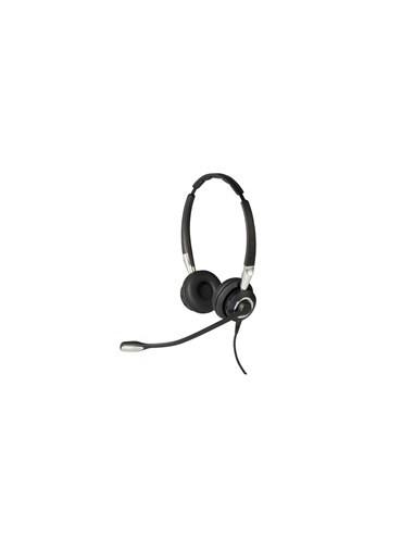 Jabra Biz 2400 II QD Duo NC Wideband Balanced Kuulokkeet Pääpanta Musta, Hopea Gn Netcom 2489-825-209 - 1