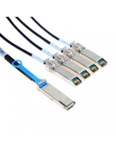 Mellanox Technologies QSFP / 4 SFP+, 5m InfiniBand-kaapeli x SFP+ Musta Mellanox Hw MC2609125-005 - 1