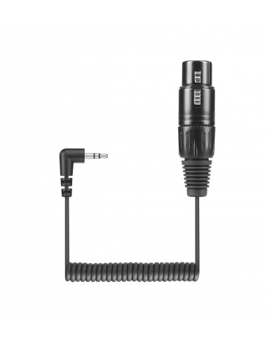 Sennheiser KA 600 audiokaapeli 0.4 m XLR (3-pin) 3.5mm Musta Sennheiser 505633 - 1