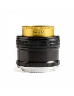 Lensbaby Twist 60 SLR Musta, Kulta, Hopea Lensbaby LBT60N - 1