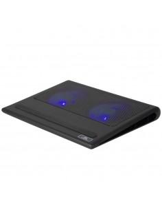 """Rivacase 5557 kannettavan tietokoneen jäähdytysalusta 43.9 cm (17.3"""") 1100 RPM Musta Rivacase 4260403575284 - 1"""