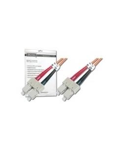 Digitus DK-2522-01 valokuitukaapeli 1 m SC OM2 Grey,Orange Assmann DK-2522-01 - 1