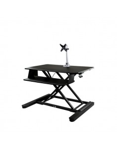 """StarTech.com Sit-Stand Desk Converter with Monitor Arm - 35"""" Wide Work Surface For up to 30"""" Startech BNDSTSLGPVT - 1"""