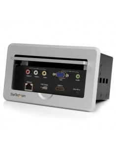 StarTech.com BOX4HDECP AV-neuvottelusilta 1920 x 1080 pikseliä Ethernet LAN Musta, Harmaa Startech BOX4HDECP - 1