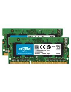 Crucial 16GB DDR3-1600 muistimoduuli 2 x 8 GB 1600 MHz ECC Crucial Technology CT2K8G3S160BM - 1