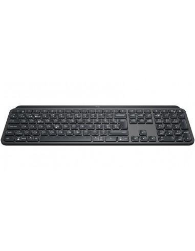 Logitech MX Keys näppäimistö RF Wireless + Bluetooth QWERTZ Sveitsi Musta Logitech 920-009407 - 1