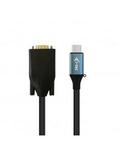 i-tec C31CBLVGA60HZ videokaapeli-adapteri 1.5 m USB Type-C VGA (D-Sub) Musta, Sininen I-tec C31CBLVGA60HZ - 1