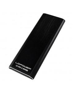 LC-Power LC-M2-C-NVME tallennusaseman kotelo M.2 SSD-kotelo Musta Lc Power LC-M2-C-NVME - 1
