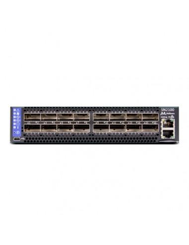 Mellanox Technologies MSN2100-BB2F verkkokytkin L3 Ei mitään Musta 1U Mellanox Hw MSN2100-BB2F - 1