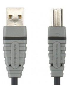 Bandridge BCL4101 USB-kaapeli 1 m USB A B Harmaa Bandridge BCL4101 - 1