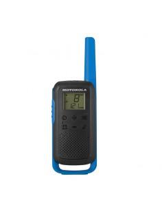 Motorola TALKABOUT T62 radiopuhelin 16 kanavaa 12500 MHz Musta, Sininen Motorola 188044 - 1