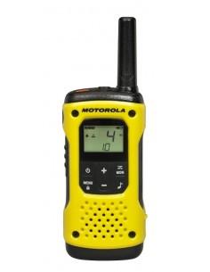 Motorola TLKR T92 H2O 8xchannels Musta, Keltainen radiopuhelin Motorola 188046 - 1