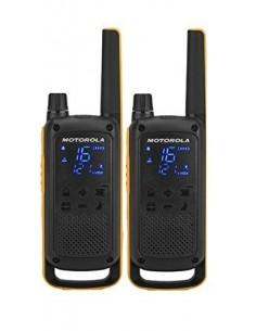 Motorola Talkabout T82 Extreme Twin Pack radiopuhelin 16 kanavaa Musta, Oranssi Motorola 188069 - 1