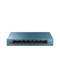 TP-LINK LS108G verkkokytkin Hallitsematon Gigabit Ethernet (10/100/1000) Sininen Tp-link LS108G - 1