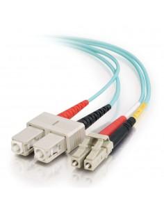 C2G 85531 fiberoptikkablar 1 m LC SC OFNR Turkos C2g 85531 - 1