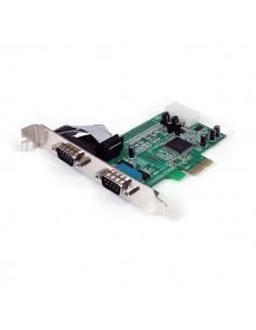 StarTech.com Native PCI express RS232 seriell-kortadapter med 2 portar och 16550 UART Startech PEX2S553 - 1