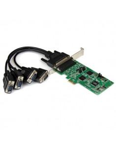 StarTech.com PCI express PCIe seriellt kombokort med 4 portar – 2x RS232 RS422/RS485 Startech PEX4S232485 - 1
