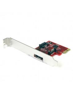 StarTech.com 1x eSATA + SATA 6 Gbps PCI Express Controller Card Adapter Startech PEXSAT31E1 - 1