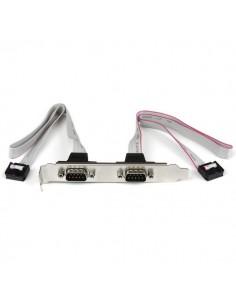 StarTech.com 2 Port 16in DB9 Serial Bracket to 10 Pin Header Startech PLATE9M2P16 - 1