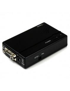 StarTech.com VGA2VID cable gender changer VGA S-Video/RCA Musta Startech VGA2VID - 1