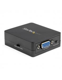 StarTech.com Composite to VGA Video Converter - NTSC and PAL 1920x1200 Scaler S Adapter Startech VID2VGATV3 - 1