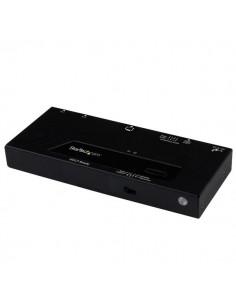 StarTech.com HDMI-switch med 2 portar och automatisk prioriterad växling – 1080p Startech VS221HDQ - 1