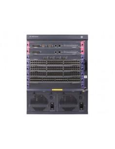 Hewlett Packard Enterprise FlexNetwork 7506 hanterad Gigabit Ethernet (10/100/1000) Strömförsörjning via (PoE) stöd 13U Svart Hp