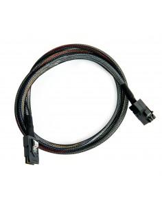 Microsemi ADAPTEC I-HDMSAS-MSAS-.5M CABLE 0.5 m 6 Gbit/s Svart Microsemi Storage Solution 2281200-R - 1