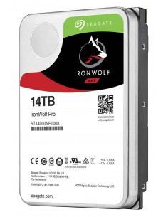 "Seagate IronWolf Pro ST14000NEA008 internal hard drive 3.5"" 14000 GB Serial ATA III Seagate ST14000NEA008 - 1"