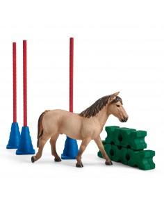 Schleich Farm World Pony slalom Schleich 42483 - 1