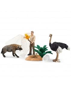Schleich Wild Life Hyena attack Schleich 42504 - 1