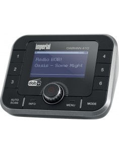 Imperial DABMAN 410 Bluetooth Svart, Silver Imperial 22-244-00 - 1