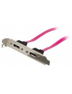 Valueline VLCP73800R05 SATA-kaapeli 0.5 m SATA 7-pin Vaaleanpunainen Valueline VLCP73800R05 - 1