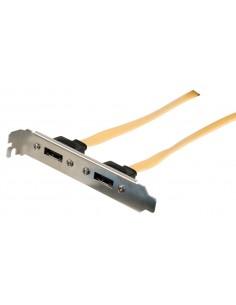 Valueline VLCP73805Y05 SATA-kaapeli 0,5 m SATA 7-pin Keltainen Valueline VLCP73805Y05 - 1