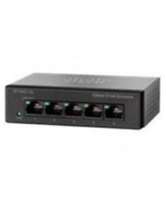 Cisco SG110D-05 Unmanaged L2 Gigabit Ethernet (10/100/1000) Black Cisco SG110D-05-EU - 1