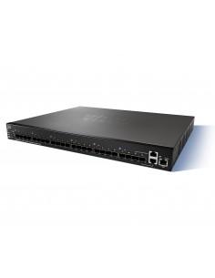 Cisco Small Business SG550XG-24F Hallittu L3 10G Ethernet (100/1000/10000) 1U Musta Cisco SG550XG-24F-K9-EU - 1