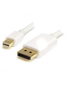StarTech.com 2 m Mini DisplayPort/DisplayPort Vit Startech MDP2DPMM2MW - 1
