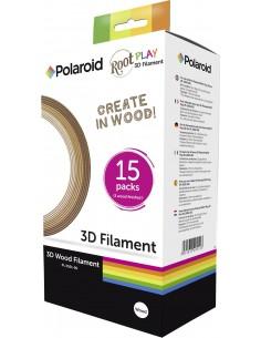 Polaroid 3D Pen Wood Filament Puukuitu Puu 15 g Polaroid 3D-FL-PL-2501-00 - 1