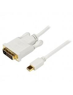 StarTech.com 3 ft Mini DisplayPort to DVI Adapter Converter Cable – DP 1920x1200 - White Startech MDP2DVIMM3W - 1