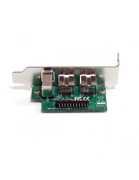 StarTech.com 3 Port 2b 1a 1394 Mini PCI Express FireWire Card Adapter Startech MPEX1394B3 - 4