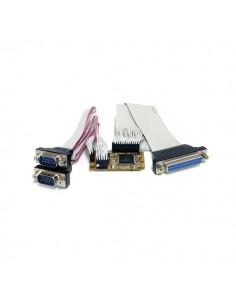 StarTech.com MPEX2S1P552 liitäntäkortti/-sovitin Sisäinen Rinnakkainen, Sarja Startech MPEX2S1P552 - 1