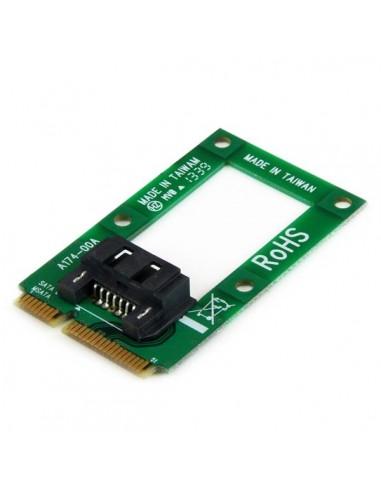 StarTech.com mSATA till SATA-HDD/SSD-adapter – Mini SATA SATA-konverteringskort Startech MSAT2SAT3 - 1