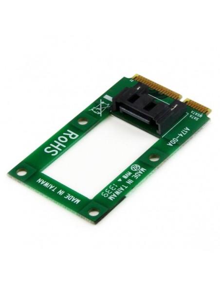 StarTech.com mSATA till SATA-HDD/SSD-adapter – Mini SATA SATA-konverteringskort Startech MSAT2SAT3 - 2